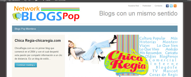 Nacimiento de Blogs Pop Network